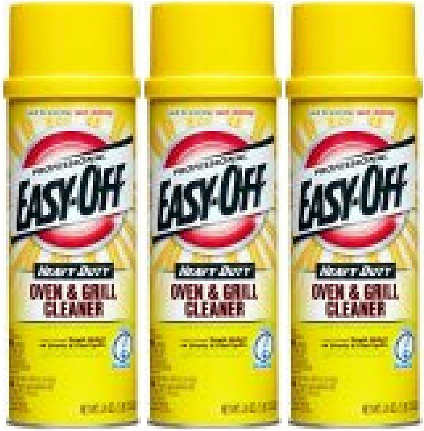 Easy-Off Heavy Duty Oven and Grill Cleaner, 24 Oz - 3 Count