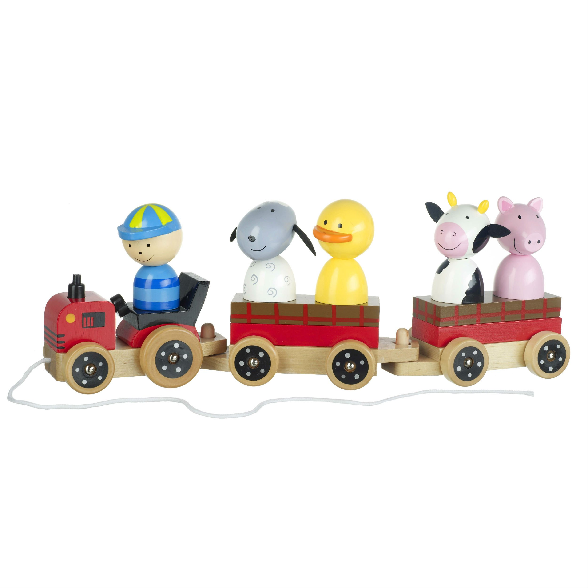 Farm Puzzle Wooden Tractor