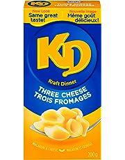 Kraft Dinner Three Cheese Macaroni & Cheese, 200g (Pack of 24)
