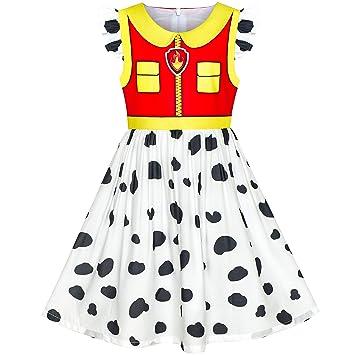 Sunny Fashion Vestido para niña Patrulla de la Pata Marshall ...