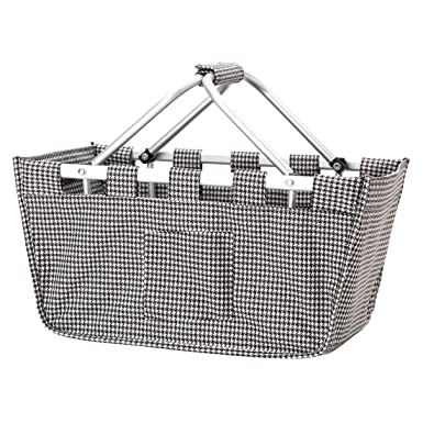 Amazon.com | Houndstooth Aluminum Frame Collapsible Design Utility ...