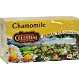 Celestial Seasonings Herbal Tea - Caffeine Free - Chamomile - 20 Bags (Pack of 2)