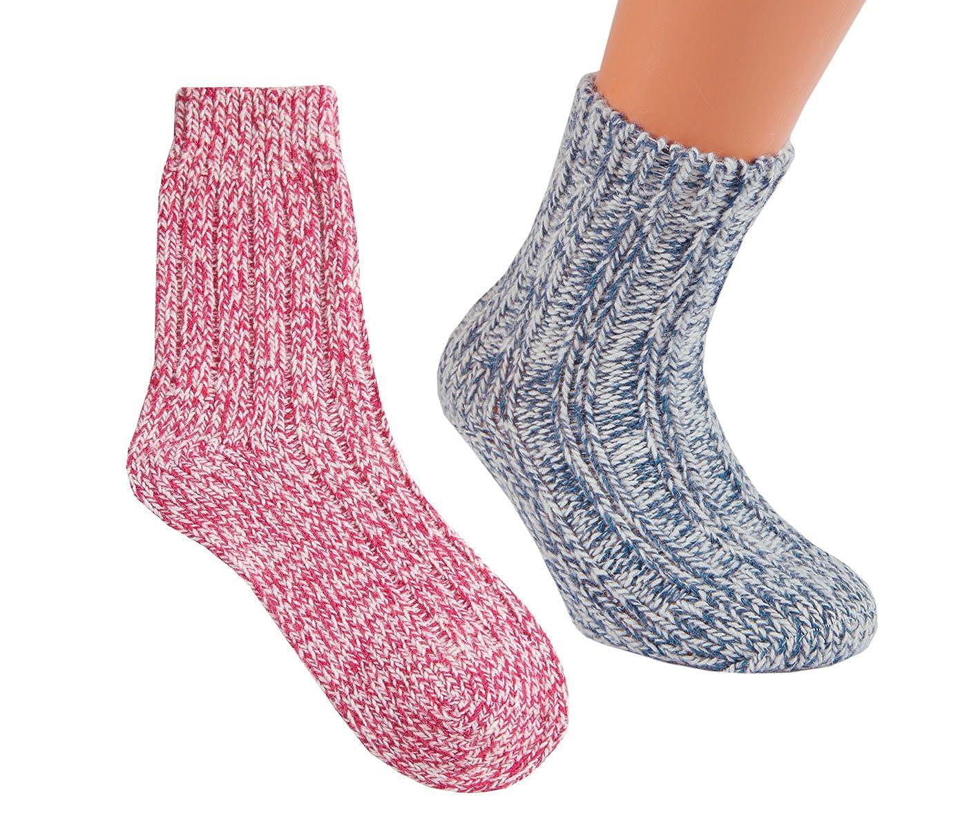 Vitasox Kinder Socken Wollsocken Norwegersocken Jungen Mädchen bunt 20812