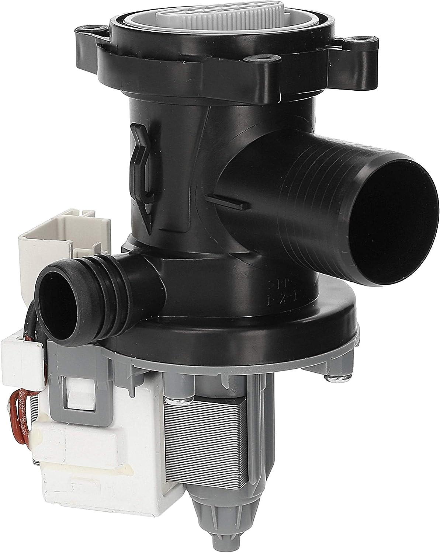Wessper Bomba de drenaje para lavadora 859991550160 ZEN SF10422 Whirlpool