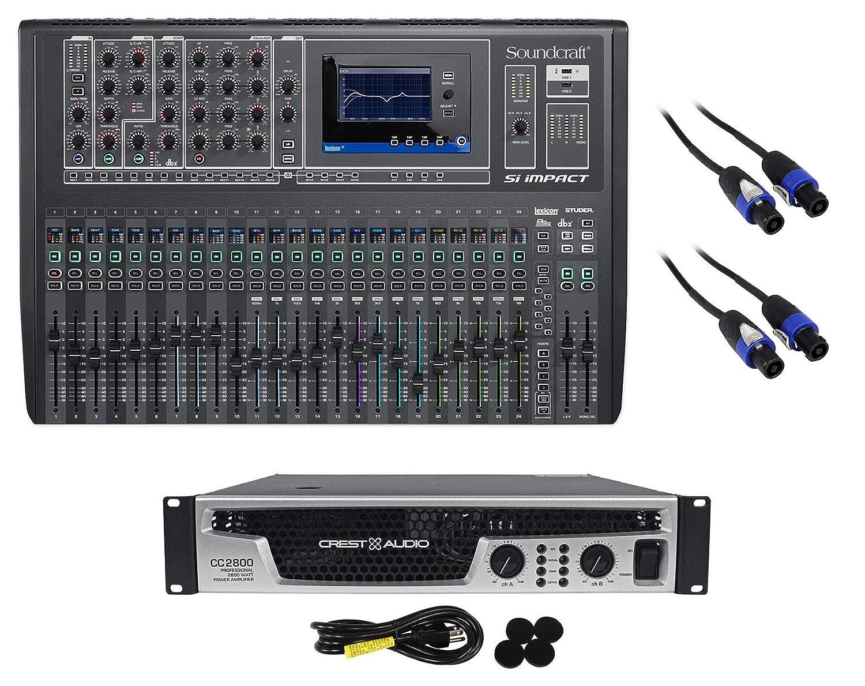 Soundcraft Si Impact DSP - Mezclador digital de 40 Ch con ...