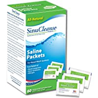 SinuCleanse Saline Solution Packets, 60 packets (Pack of 3)