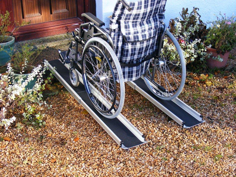 Fauteuil roulant rampe t/élescopique rampe 152 cm