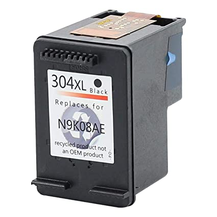 Bubprint Impresora Tinta Color Negro Compatible con HP 304 XXL con ...