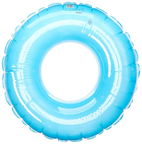 SunSplash 36-Inch Giant Swim Tube for Swimming Pools, Blue and Pink 2-Pack