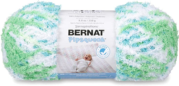 Bernat Pipsqueak Yarn-Funny Bunny Print 162059-59744