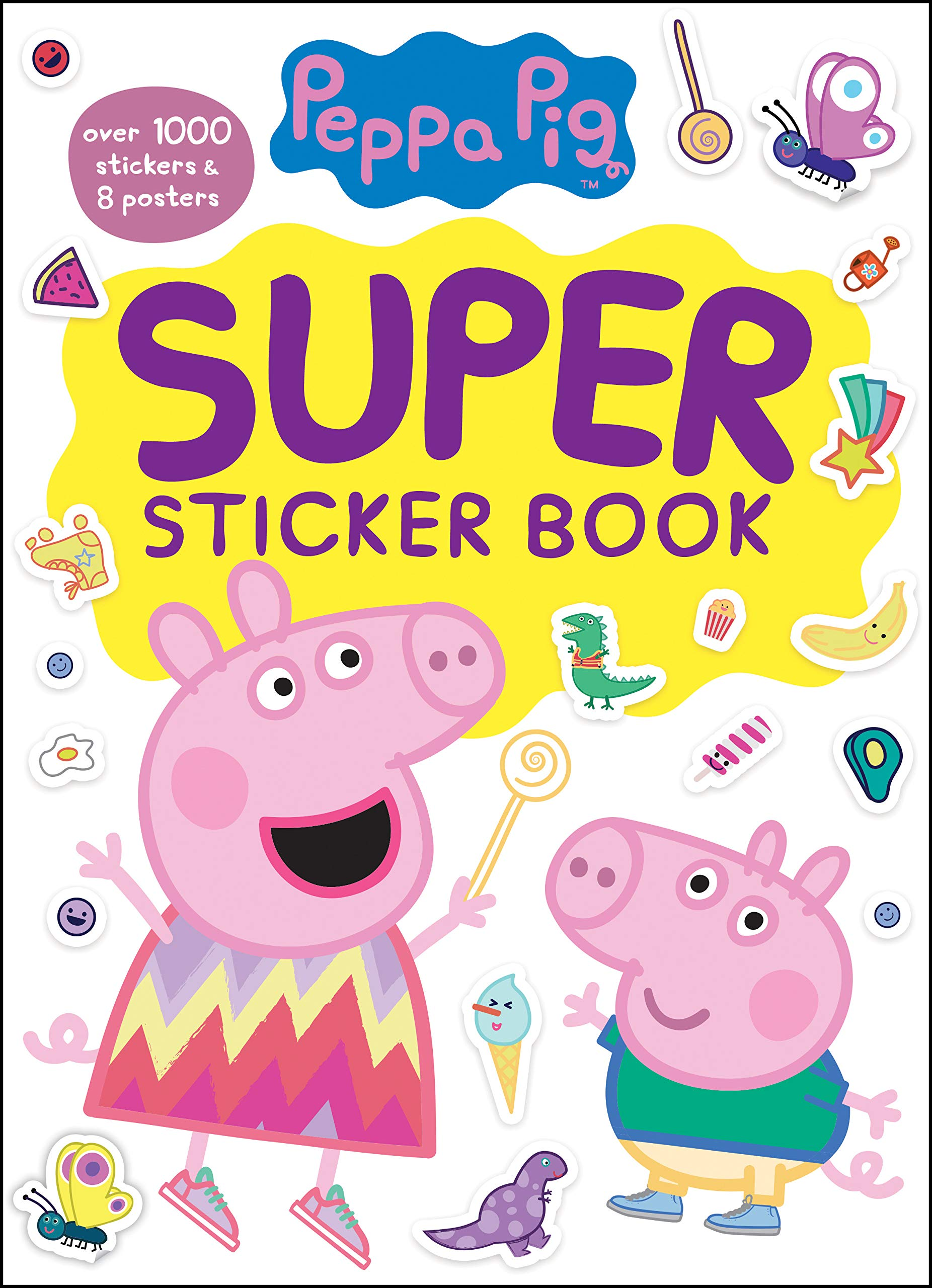 Peppa Pig Super Library Books