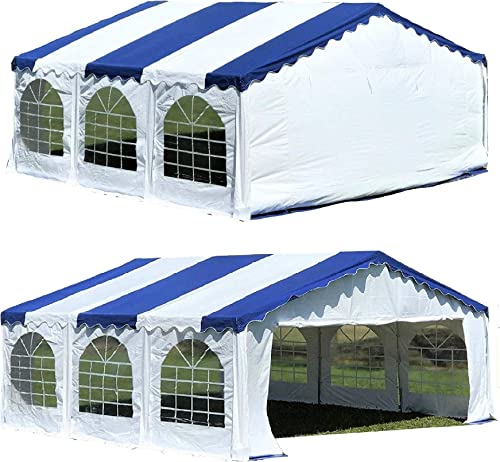 DELTA Canopies Budget PVC Party Tent Canopy Shelter 20'x20'