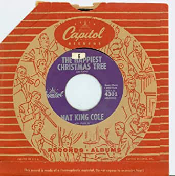 The Happiest Christmas Tree   Buon Natale - Nat King Cole (Capitol Records 1959) Excellent (5 ...