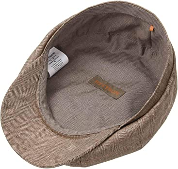 Stetson Gorra Hatteras Lana y Seda Hombre - Made in The EU Gorro ...
