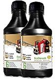 EcoDescalk, 2 x 500ml. Decalcificante per tutte le Macchina Caffè. Tutte le marche, Nespresso, Krups, DeLonghi, Tassimo....6 decalcificazioni. NortemBio, prodotto CE.