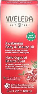 Weleda, Body Oil Pomegranate, 3.4 Fl Oz