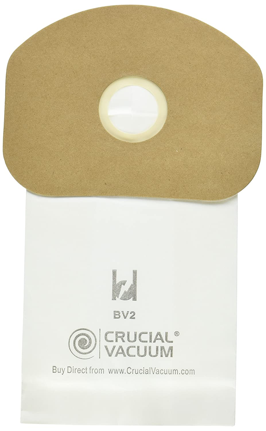 Think Crucial 10 Replacements for Eureka BV-2 Bags, Fit Sanitaire, Backpack, Carpet Pro, Piranha, and Tornado, Compatible with Part 62370