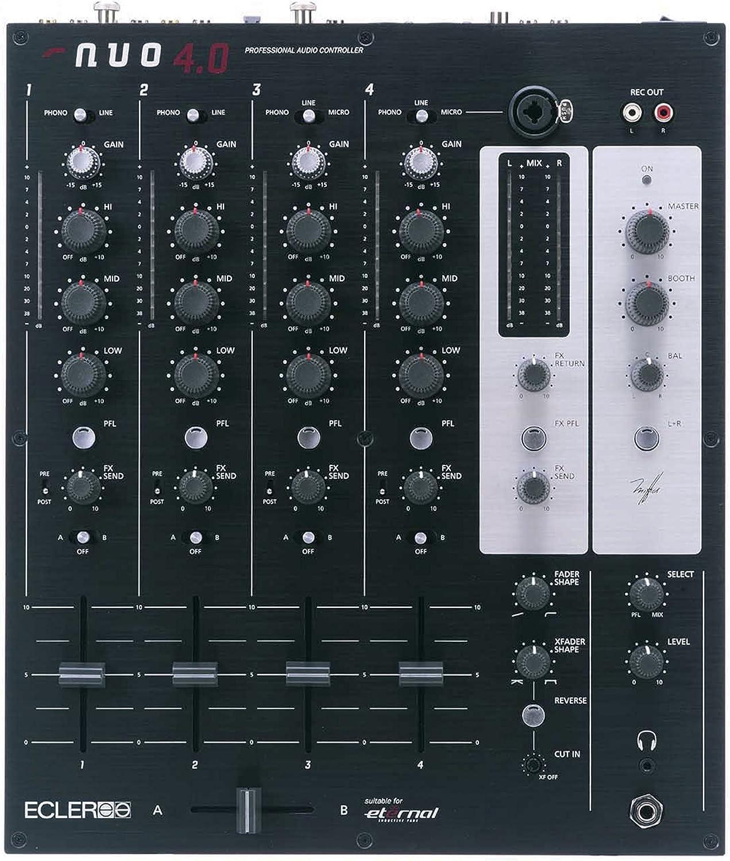 Amazon.com: Ecler Nuo 4.0 Pro mezclador DJ: Musical Instruments