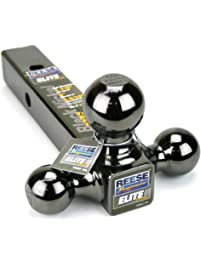 "Reese Towpower 7039800 2"" Black Nickel Triple Ball Mount"