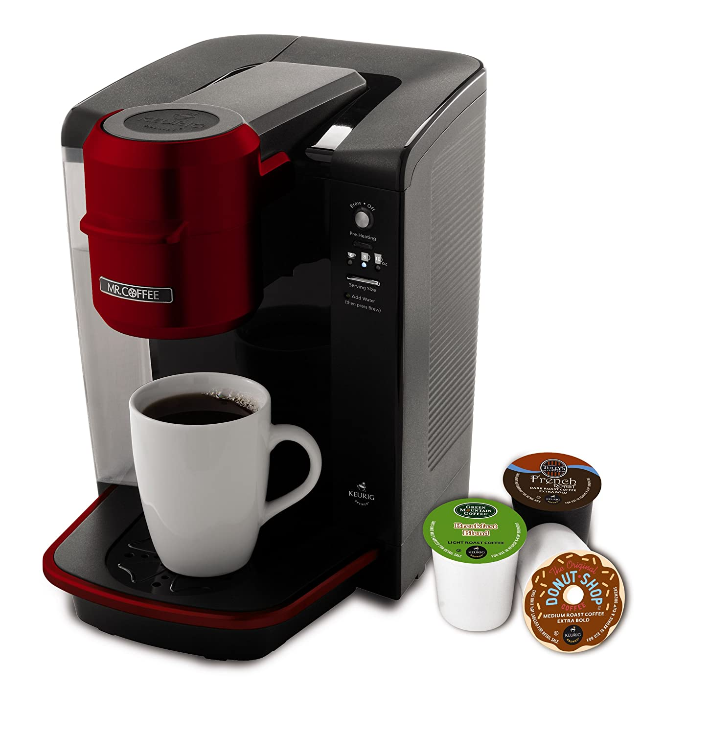 Mr. Coffee BVMC-KG6R-001 Single Serve Coffee Brewer