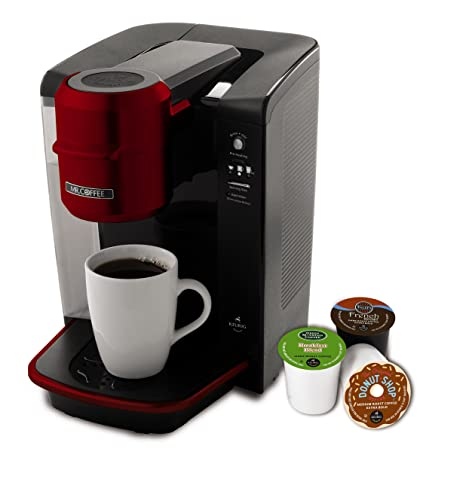 Amazon.com: Cafetera de servicio individual Mr. Coffee ...