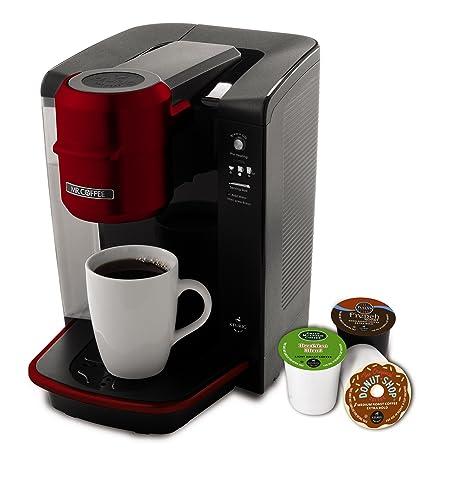 Amazon.com: Cafetera de servicio individual Mr. Coffee ...