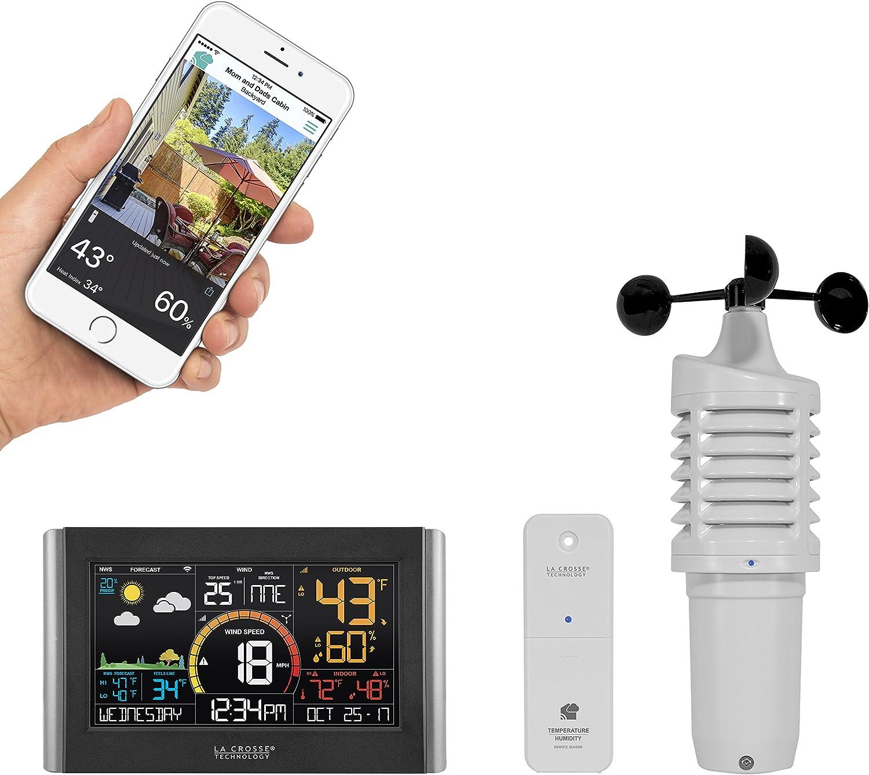 La Crosse TechnologyV21-WTH Wireless Wi-Fi Weather Station