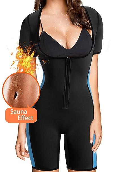f09c5694b1 Amazon.com   BRABIC Women s Full Body Shaper Sport Sweat Neoprene ...