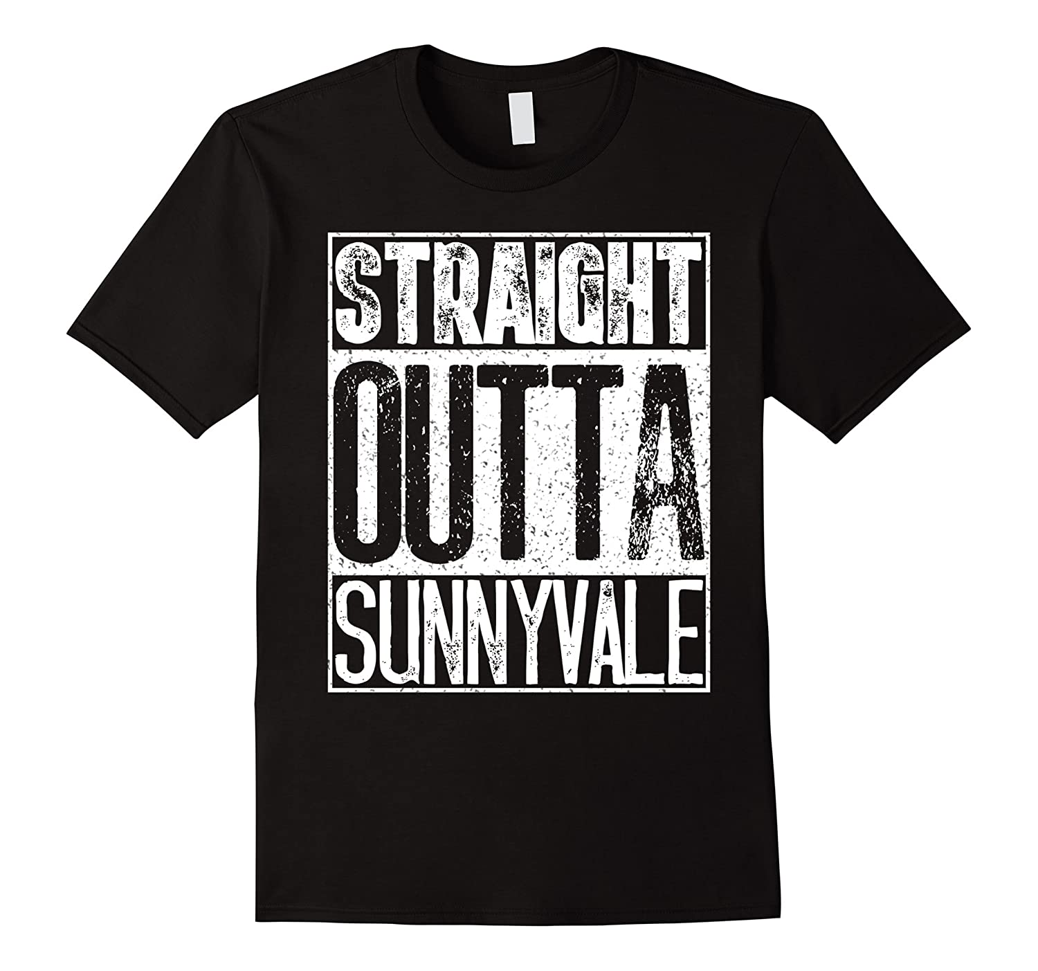 Straight Outta Sunnyvale Trailer Park Shirt – Camping Gift-fa