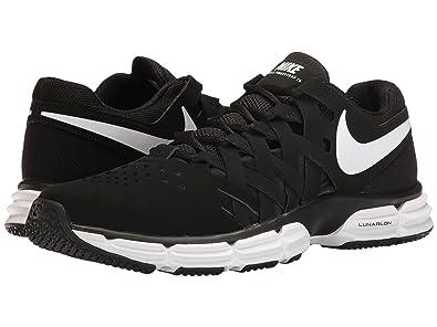 Nike Lunar Fingertrap Men's Training Shoe (10.5 4E - Extra Wide, BLACK/WHITE