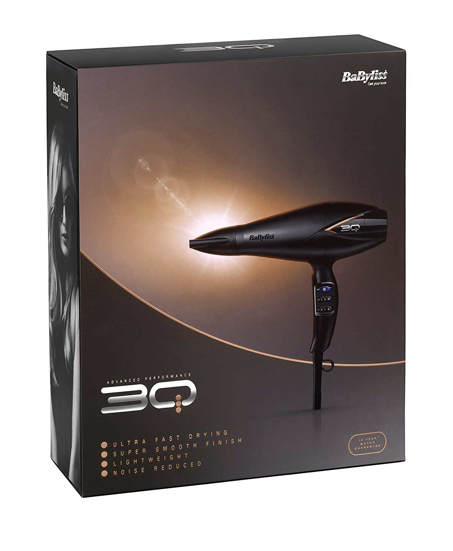 Secador de pelo profesional BaByliss 3Q: Amazon.es: Salud y cuidado personal