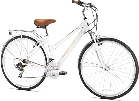 Northwoods Springdale 21-Speed de la Mujer Bicicleta híbrida, 700 ...