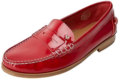 Martinelli Anaya 1362-3363CYM, Mocasines para Mujer, (Rojo), 38 EU: Amazon.es: Zapatos y complementos