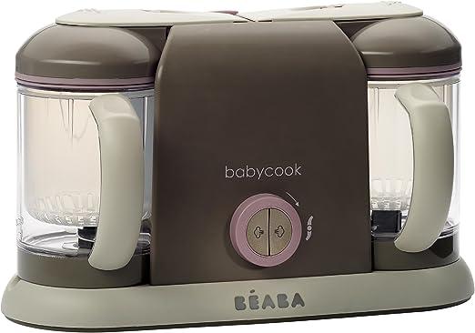 BEABA Baby cook - Robot de cocina Duo, color rosa: Amazon.es: Bebé