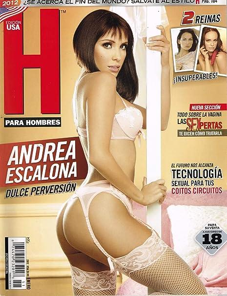 Amazon Com H Para Hombres Enero 2012 January 2012 Mexico Andrea Escalona Paperback 2012 Everything Else
