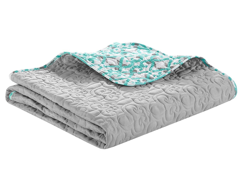 Chic Home Anat 5 Piece Quilt Set Queen Green QS3444-AN