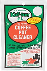 KAF-TAN #1 Coffee Pot Cleaner/Stain Remover, 1.5 Ounce Packet