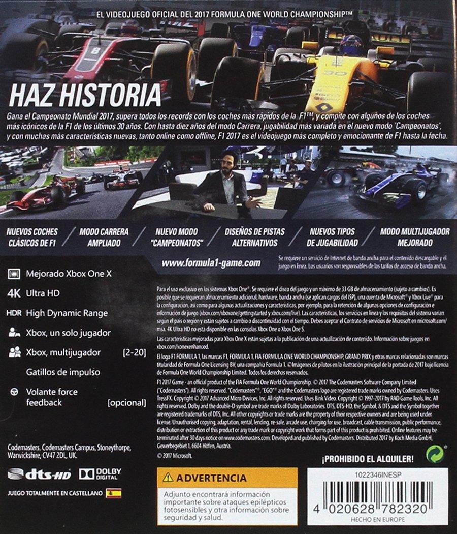 F1 2017: Amazon.es: Videojuegos