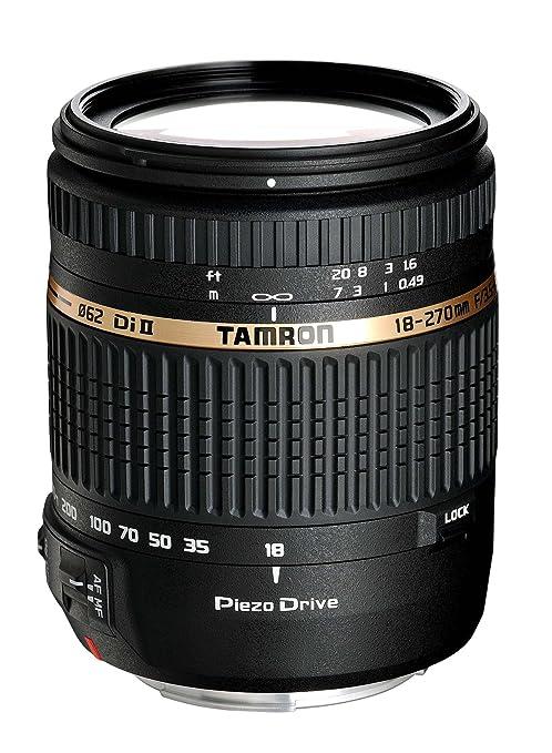 215 opinioni per Tamron B008S AF 18- 270mm F/3.5- 6.3 Di II VC PZD Obiettivo Ultra-zoom per APS-C
