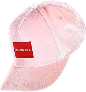d3851369c Calvin Klein Women's's Leather Visor Baseball Cap, (Black 001), One ...