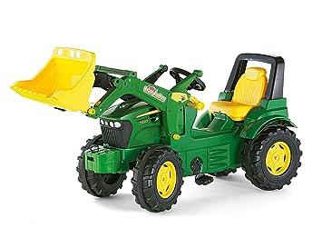 Rolly Toys Trac Lader - John Deere Tractor miniatura con pala frontal (710027): Amazon.es: Juguetes y juegos