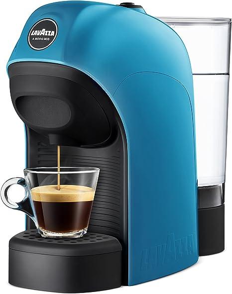 Lavazza LM800 Tiny Independiente Máquina de café en cápsulas 0,75 L Semi- automática - Cafetera (Independiente, Máquina de café en cápsulas, 0,75 L, Cápsula de café, 1450 W, Negro, Azul): Amazon.es: Hogar