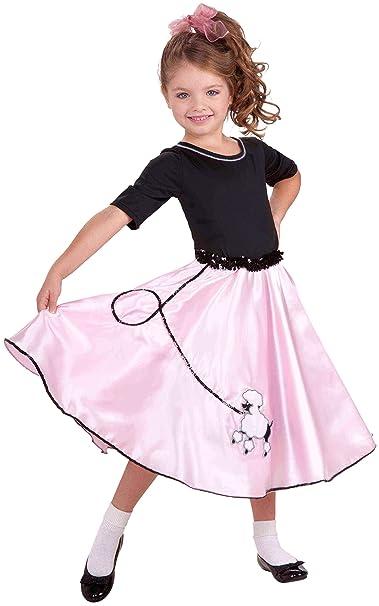 50s Girl Costumes, 50s Girl's Dresses Forum Novelties Pretty Poodle Princess Costume Childs Large $24.82 AT vintagedancer.com