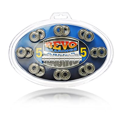Tour Hockey Silver-5 Rated Bearings : Skate Replacement Bearings : Sports & Outdoors