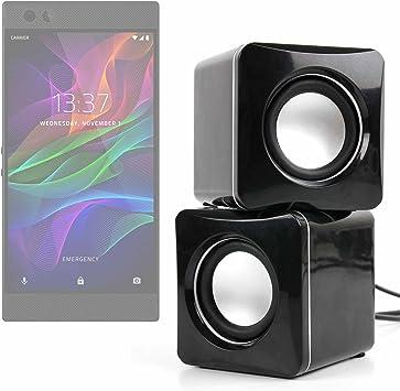 DURAGADGET Altavoces Compactos para Smartphone Razer Phone/Nokia 2 ...