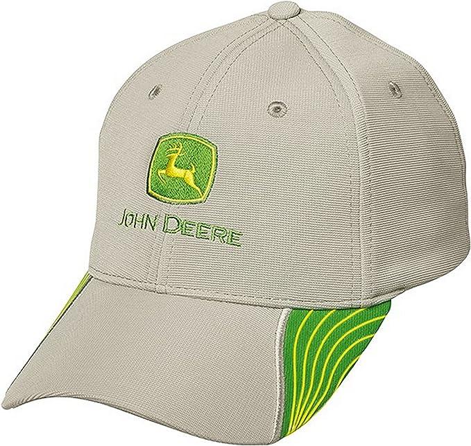 John Deere - Gorra de béisbol - para Hombre Gris Gris Talla única ...