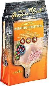 Fussie Cat Market Fresh Guinea Fowl & Turkey Meal Formula Grain-Free Dry Cat Food 10lb