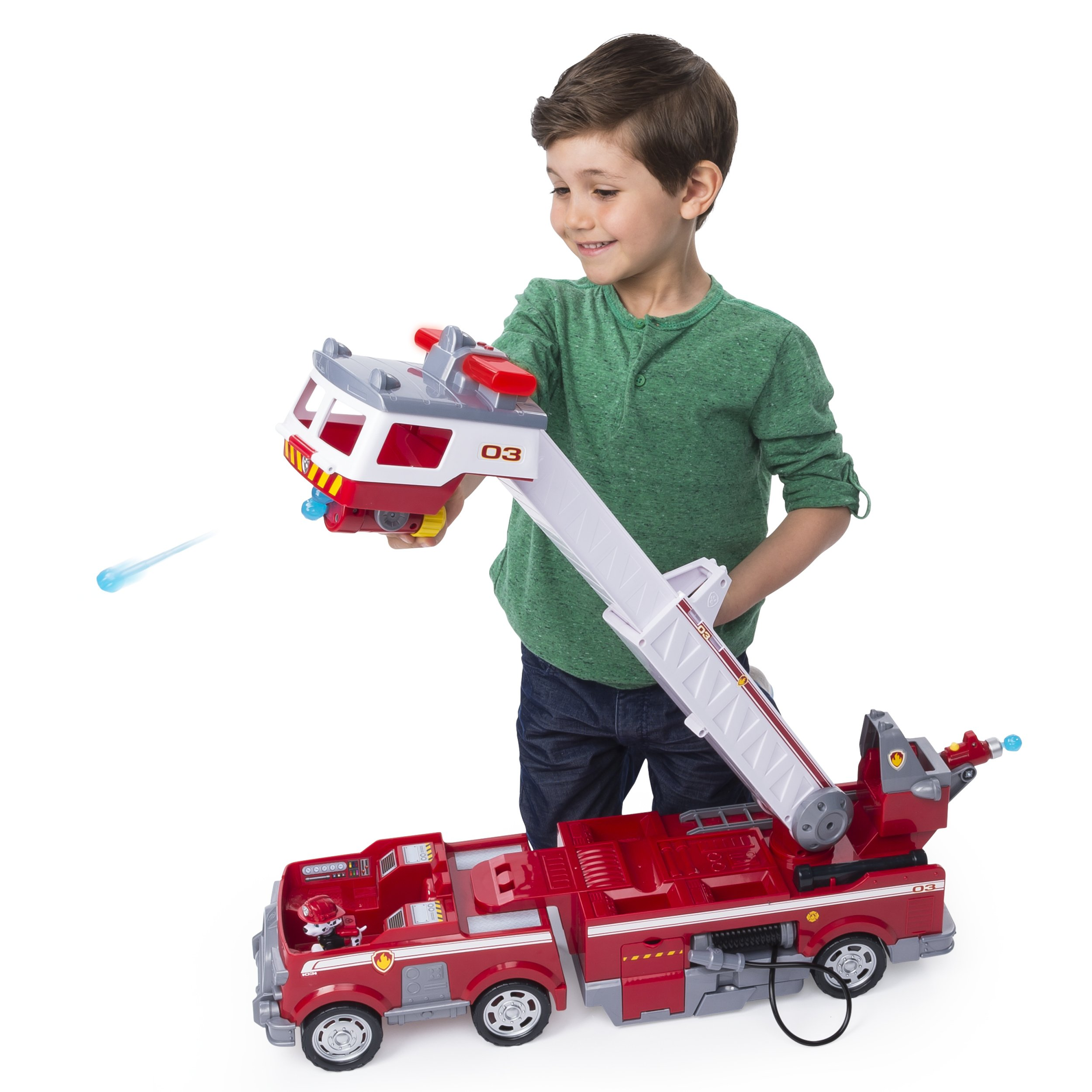 PAW Patrol - Ultimate Rescue Fire Truck with Extendable 2 ft. Tall Ladder, for Ages 3 and Up by Paw Patrol (Image #3)