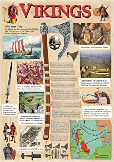 Viking Timeline 40x60cm: Amazon.co.uk: Kitchen & Home