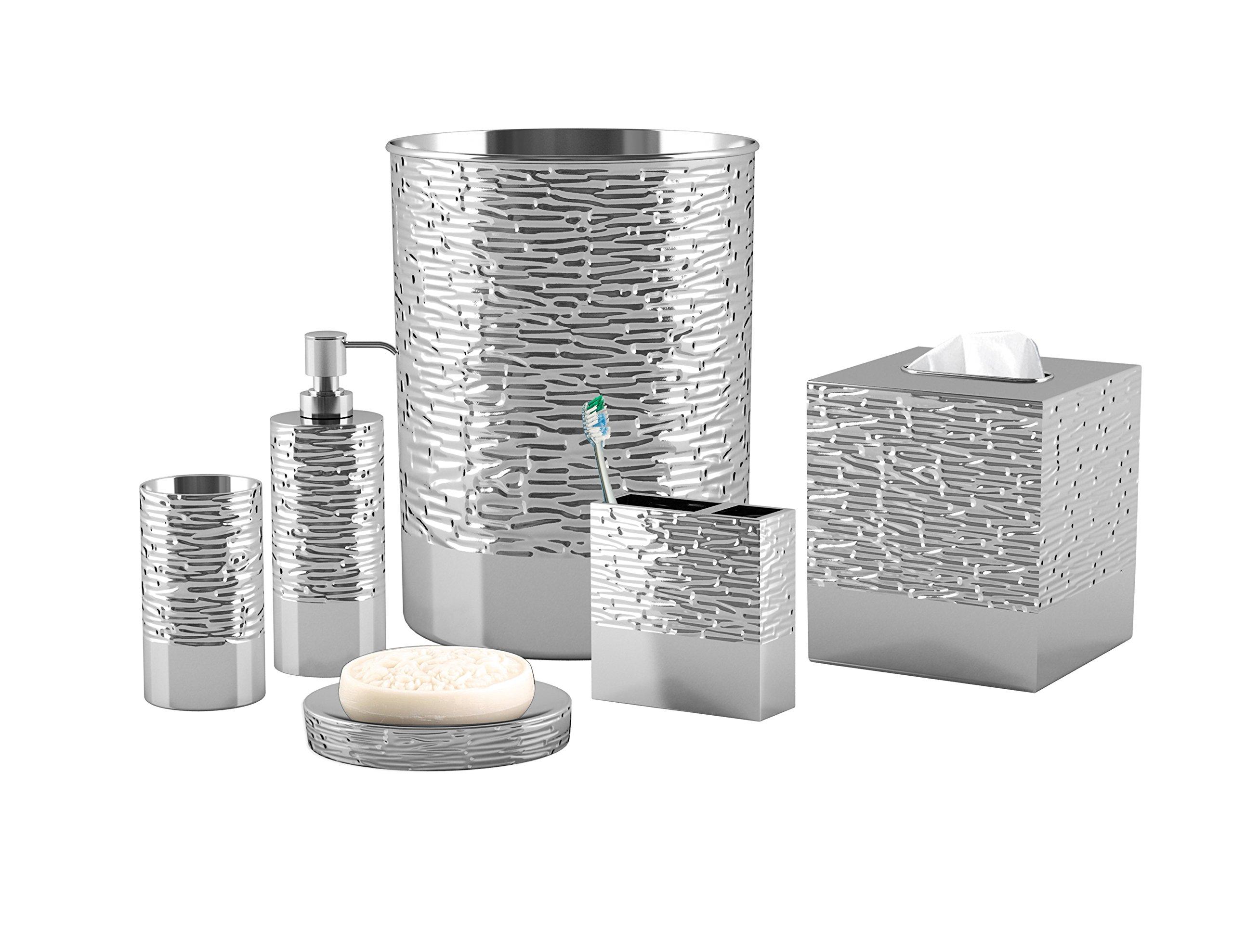 nu steel 7-Piece Metropolitan Bathroom Set